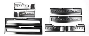 Apply only for Land Rover evoquer door sill evoquer retrofit welcome pedal stainless steel evoquer interior trim