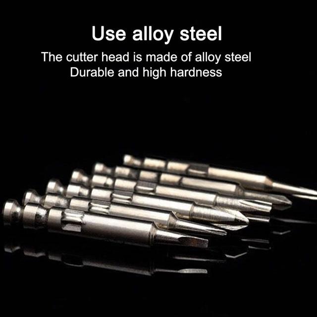 Precision Mini Anti-Slip Bit Cross-head Type Screwdriver Repair Tool J