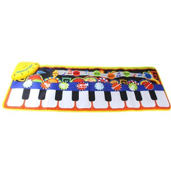 Baby Piano Music Blanket Environmental Protection Children'S Multi-Function Music Game Carpet Early Education Crawling Blanket