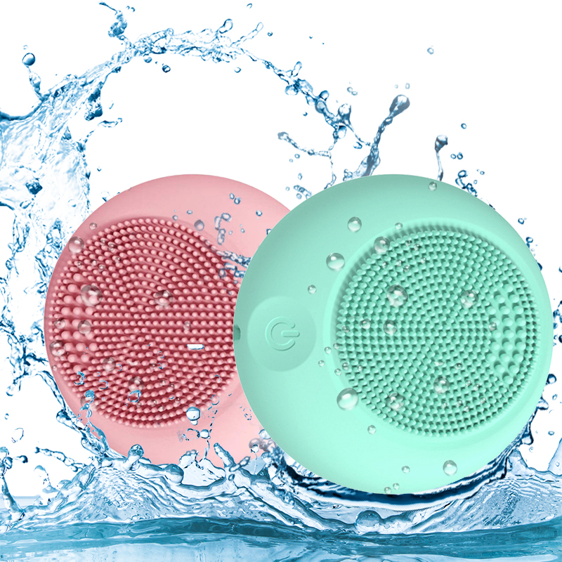 Disposable Silicone Face Cleansing Brush Facial Cleanser Pore