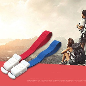 ABS Snap Tourniquet Quick Release Medical Emergency Buckle Band Adjustable Portable Ribbon Outdoor First Aid Accessories