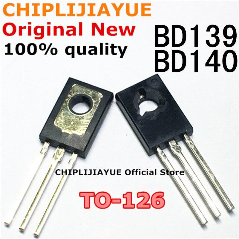 20PCS BD139 BD140 10Pair ( 10PCS BD139 + 10PCS BD140 ) TO126 TO-126 new voltage regulator IC