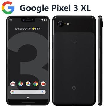 Перейти на Алиэкспресс и купить Оригинальная версия США Google Pixel 3 XL 4G мобильный телефон 6,3 дюйм4 Гб 64 Гб Snapdragon845 OctaCore 12.2MP 3430 мАч NFC Android-смартфон