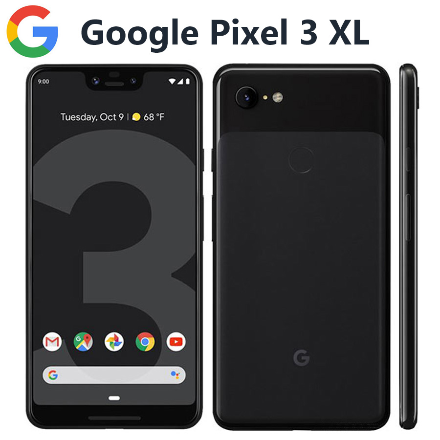 Original US Version Google Pixel 3 XL 4G Mobile Phone 6.3 4GB 64GB Snapdragon845 OctaCore 12.2MP 3430mAh NFC Android Smartphone image