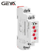 Free Shipping GEYA GRI8-04 Over Current and Under Monitor 0.05A 1A 2A 5A 8A 16A Monitoring Relay