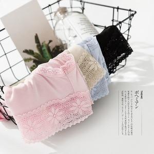 Image 2 - 4 แพ็คสตรี 100% ผ้าไหมผ้าไหมบางชุดชั้นในชุดชั้นในชุดชั้นใน M L XL TG008