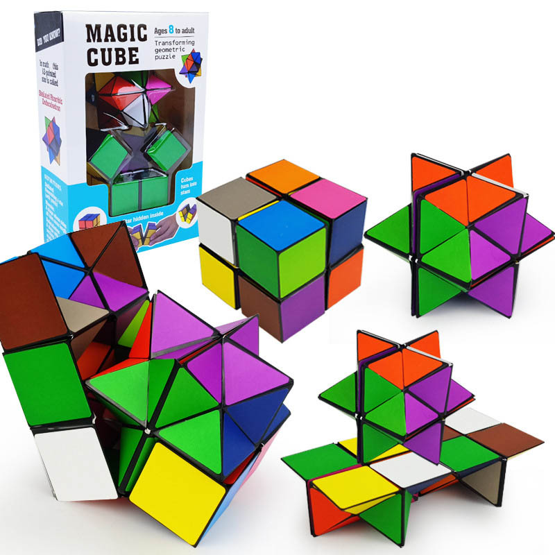 Hot Sales Infinity Cube Unlimited Star Infinite Cubes Puzzle Anti Stress Reliever Toys Kids Adult Gifts