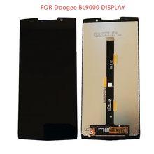 5.99 cala dla 100% oryginalny Doogee BL9000 Android 8.1 do telefonu komórkowego LCD + montaż digitalizatora zdalnego sterowania