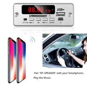 Image 5 - Kebidu 5 12 V Bluetooth5.0 MP3 Bộ Giải Mã Mô đun Không Dây MP3 Cầu Thủ Đèn LED Xe Hơi Ô Tô Phụ Kiện Hỗ Trợ Khe Cắm Thẻ Nhớ TF USB FM + Điều Khiển Từ Xa