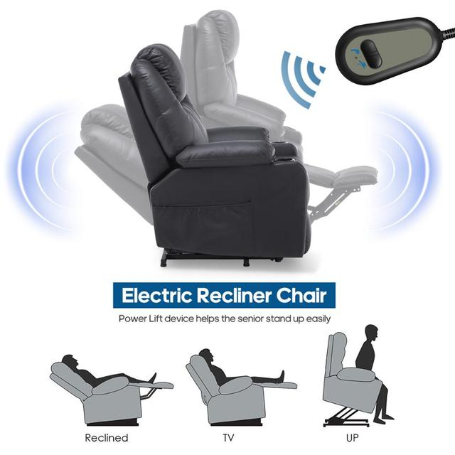 Electric Motorized Massage Chair  4