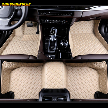Custom car floor mats for Dongfeng FengShen AX7 AX3 H30 S30 A60 A30 AX5 AX4 E70 A9 jinyi X5 For Dongfeng all models floor mats image