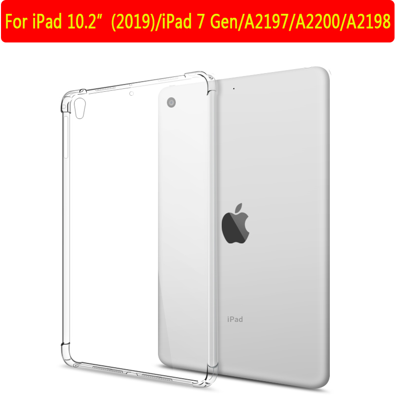 iPad 10.2 2019 7th Red Cover For iPad 10 2 inch 7th 8th Gen 2019 2020 A2197 A2200 A2270 Tablet Case