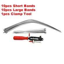 สำหรับรถยนต์/ATV CV Joint แถบ Boot เพลา Clamp เครื่องมือ CV ครึ่ง Shaft Boot Band Buckle Clamps ซ่อมเครื่องมือติดตั้ง
