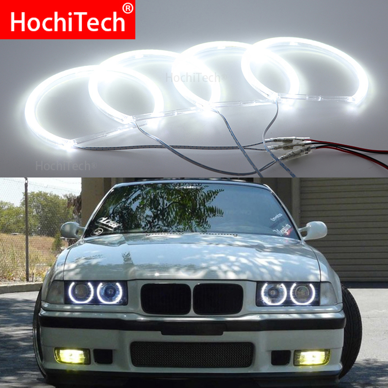 For BMW 3 Series E36 1990 - 2000 Smd Led Angel Eyes Kit Excellent Ultra Bright Illumination DRL