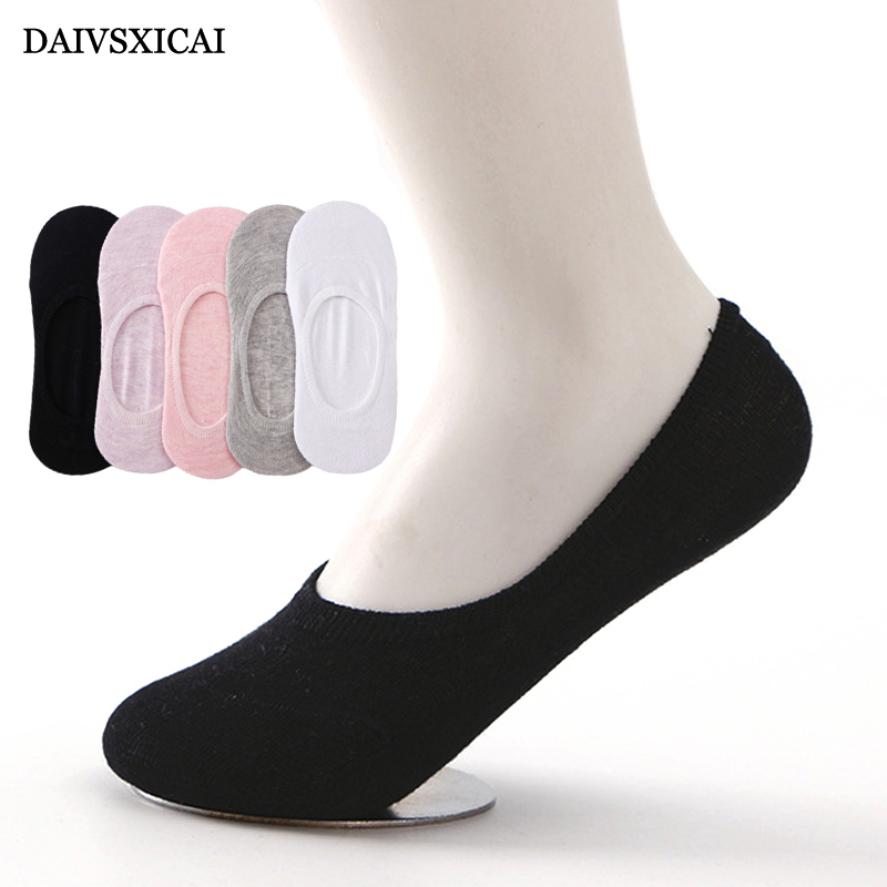 4Pair/lot=8pieces Solid Color Womens Fashion Socks Summer Wild Candy Color Female Invisible Socks