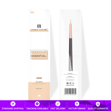 U213 Eyeliner Brush For Gel Liquid eyeliner or Lip liner Rose gold ferrule wooden handle Makeup brushes UNIQUE COLORS