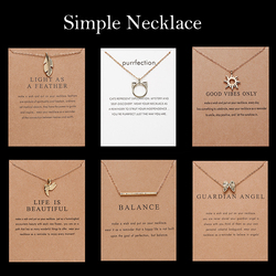 Trendy Animal Cat Ear Angel Wings Bird Charm Gold Choker Necklace Star Zodiac Sign 12 Constellation Pendant Necklace  Jewelry
