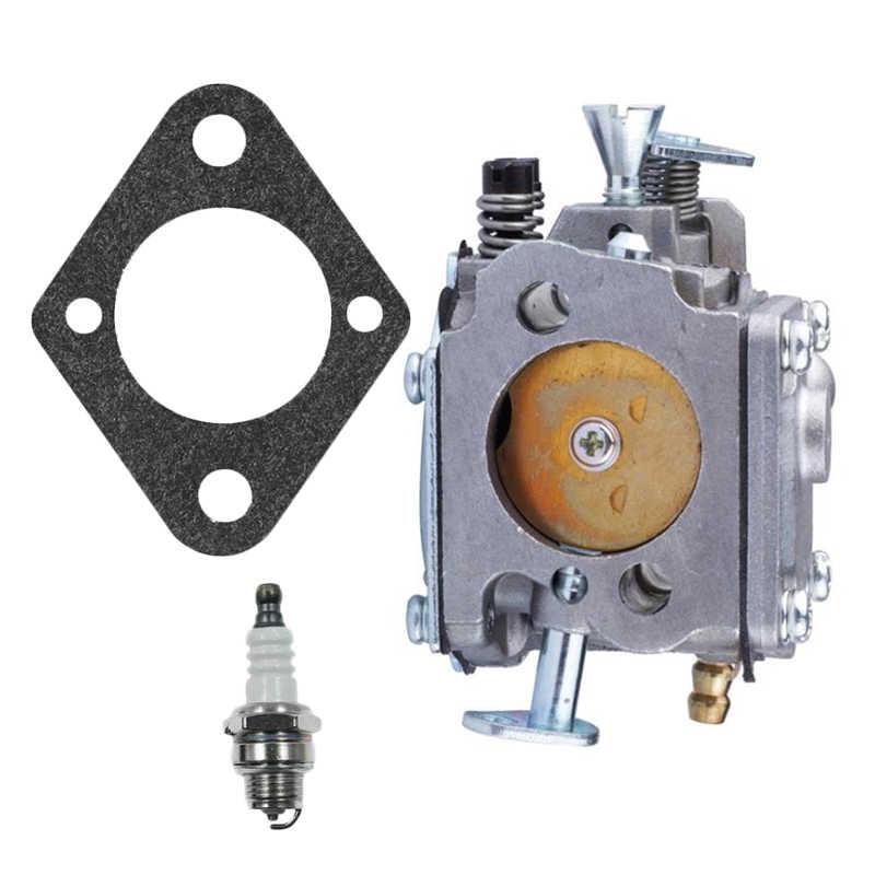 Kit de bougie d'allumage de joint de carburateur pour HUSQVARNA 61 266 268 272 272XP pièces de tronçonneuse accessoires d'équipement électrique