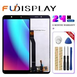 Original para xiaomi redmi 6a display lcd tela de toque com quadro lcd digitador redmi 6 assembléia peças reparo 10 toque