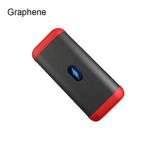 Батарея RIY Graphene портативная батарея 10000mAh mini PD 18W QC3.0 3 часа полностью заряжает аккумулятор