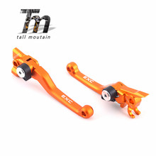 CNC Pivot Brake Clutch Levers For KTM EXC 250 300 350 400 450 500 505 525 EXC XC-W SX Brake Clutch Levers XC-F/SX-F  EXC/EXC-R cnc pivot dirttbike brake clutch levers for ktm 525 300 450 250 exc 250 exc f 505 450 xc f 400exc r 505 250 sx f