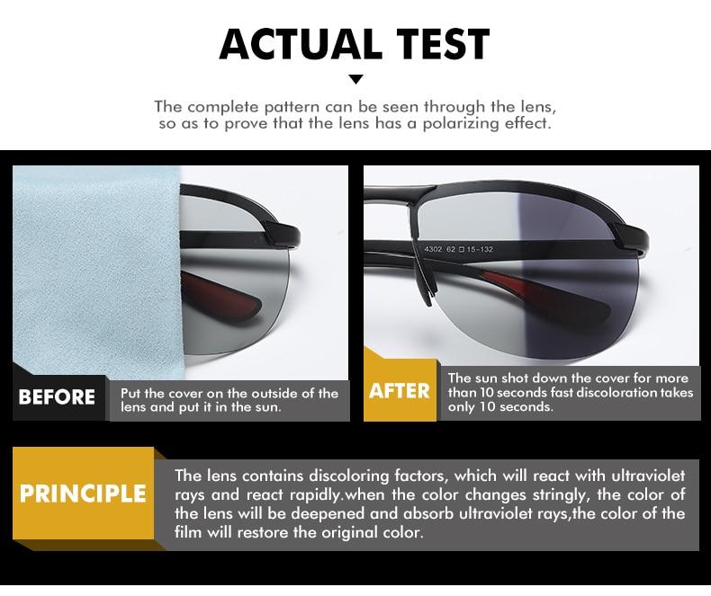 H7a66a4a9bf9244e9bd4dbe1677f880d7b 2020 Brand Photochromic Men Sunglasses Polarized Glasses Day Night Vision Driving Sun Glasses For Male Oculos De Sol Masculino