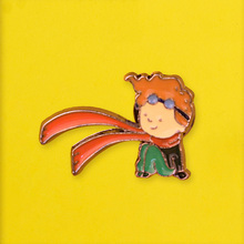 Little Prince Badges for Backpack Cartoon Brooches Badges for Clothes Badge Enamel Pins for Backpacks Clothes Lapel Pin Jewelry the little prince brooches for women don t be a boring adult le petit prince b 612 planet fox rose fairy tale hard enamel pin
