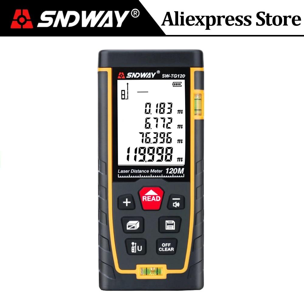 SNDWAY Laser Rangefinder 120m 100m 70m 50m 40m Digital Distance Meter Measurer