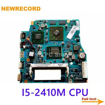 NEWRECORD for SONY A1836128A A1820708A V031 REV 1.2 laptop motherboard MBX-237 I5-2410M CPU 4GB RAM HD6470M 512M GPU main board image
