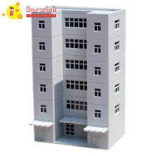 1:144 Building Office Building Model Urban Street Decoration For Model Sand Table - White стоимость