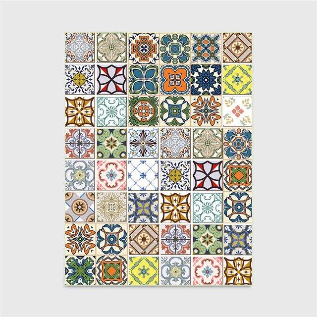 европейский стиль ковер классические наклейки геометрический фотография