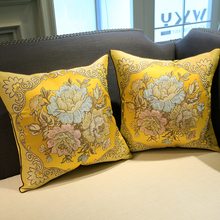 Luxury cushion cover pillow decor jacquard weave cushion cushion cover for home decor