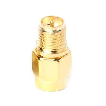 SMA Male Plug to RP- SMA Male Adapter Coaxial Connector Straight RF Connector image