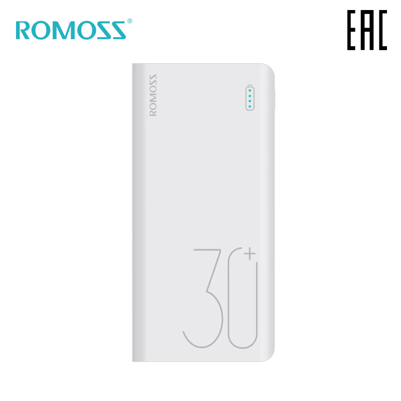 Batería Externa Romoss Sense 8 30000 mAh batería portátil móvil batería portátil