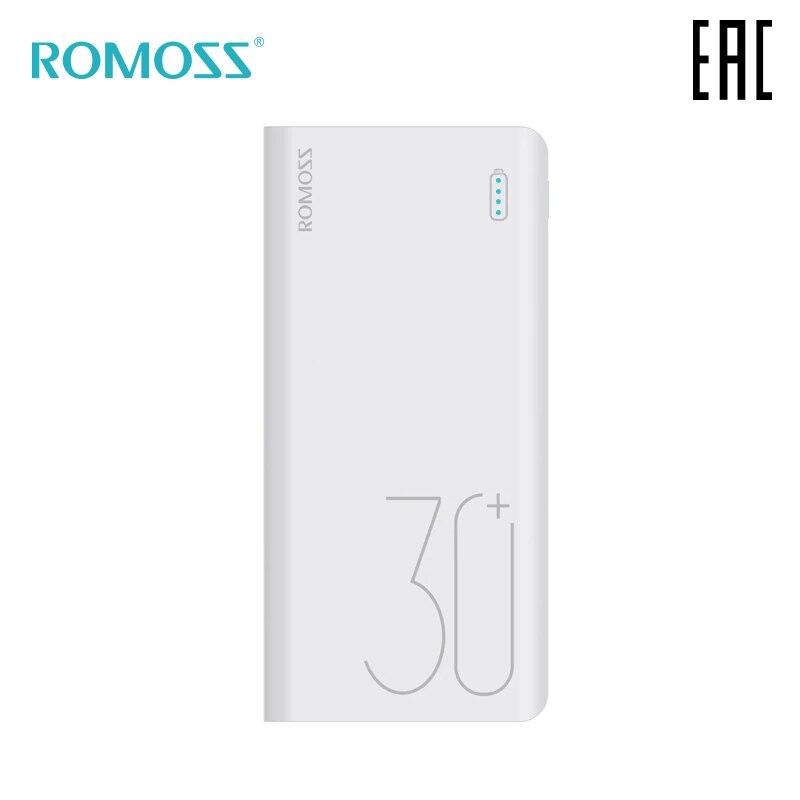 External Battery Romoss Sense 8 30000 MAh Portable Bank Mobile Battery Portable Battery