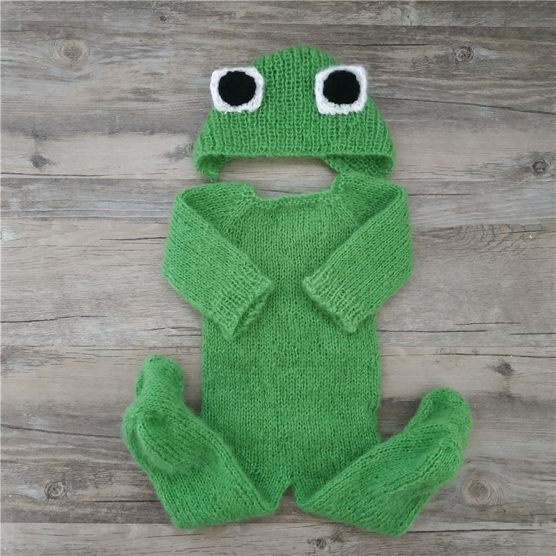 """Newborn Baby Photography Props,""""The Frog Prince"""",baby Outfits Photography Props"""