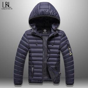 Men's Winter Jacket With Headphones Casu
