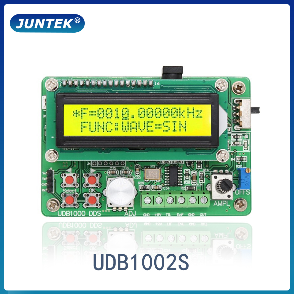 5Mhz Panel DDS Function Signal Generator Module Sine//Triangle//Square Wave Sweep