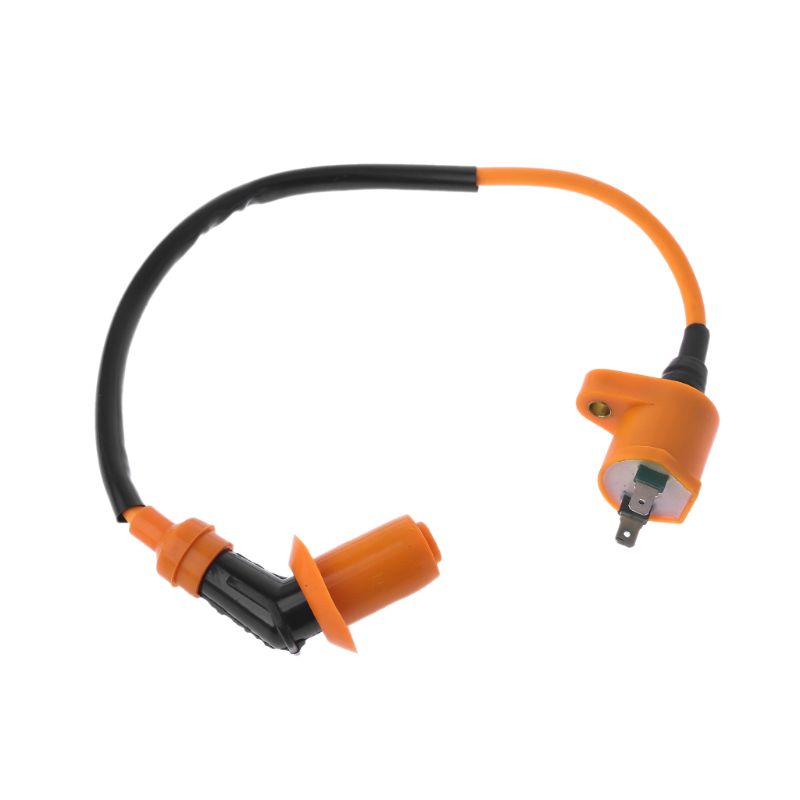 Image 2 - Motorcycle Racing Ignition Coil Spare Parts For For GY6 50cc 125cc 150cc 250cc Engines Moped Scooter ATV Qaud  qiang-in Ignition Coil from Automobiles & Motorcycles