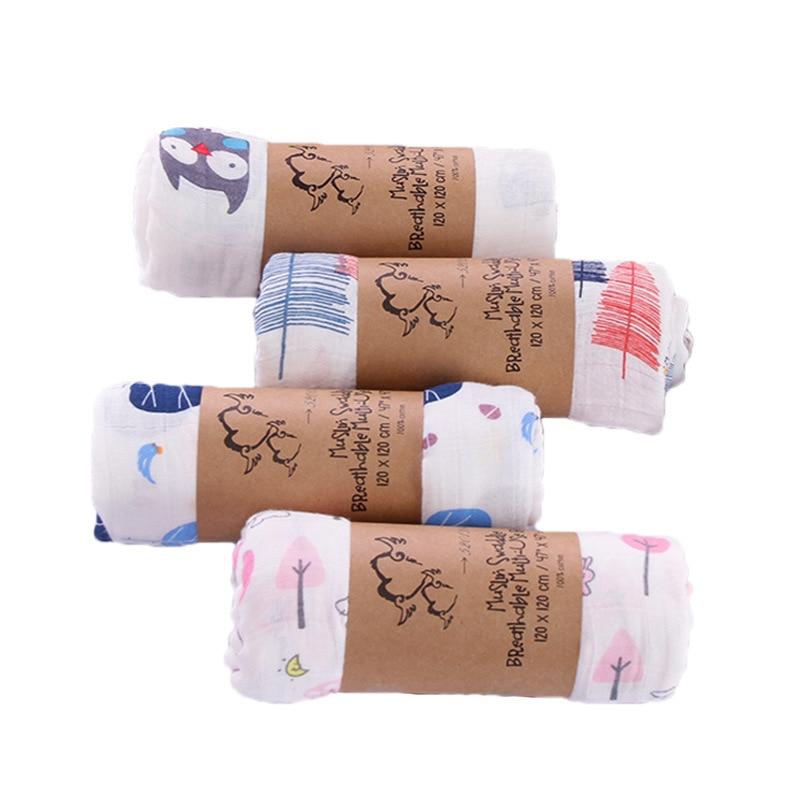 Newborn Wipes Muslin Cotton Double Gauze Wrap Towel Water Bath Towel Baby Baby Blanket