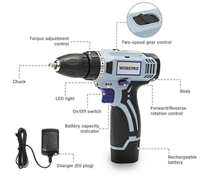 Image 5 - WORKPRO 3.6V USB Cordless Electric Screwdriver Household Power Screwdriver Rechargeable Li ion Screwdriver