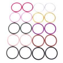 2 unidades/juego de portabebés, anillos de aluminio para portabebés y eslingas, accesorios para portabebés, 3 tamaños