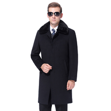 2020 Winter Men Woolen Coat Warm Wool Coat Men Overcoat Cashmere Peaco