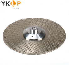 Electroplated Diamond Cutting Grinding Disc Diamond Blade Granite Marble Wheel Cutter M14 Flange 8 Holes 230mm