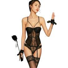 New Sexy Women Lace Underwear Lingerie Sleepwear Set