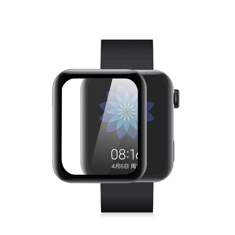 2 pcs For Xiaomi smart watch Screen Protector for Mi watch Smart Full Cover Ultra Thin Protective Film Not Tempered Glass