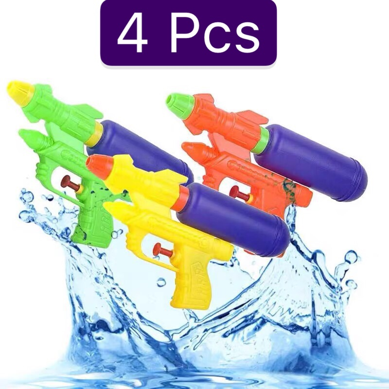 Water Guns Toys Kids Pistol Squirt Gun For Child Summer Beach Games Swimming Pool Classic Blaster Gun Portable Outdoor Beach