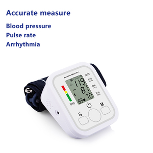 Image 2 - Drop Shipping Health Care Automatic Arm Blood Pressure Monitor Digital LCD Large Cuff Blood Pressure Meter Tonometer