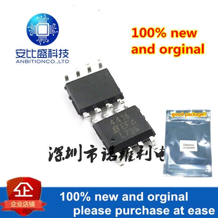 10pcs 100% New And Orginal SI4416DY-T1-E3 SOP-8 SI44164416 30V 6.9A MOS In Stock