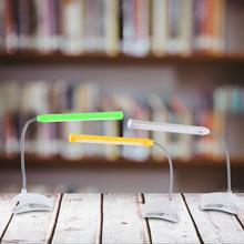 luminaria de mesa 1Pc USB LED Table Light Desk Lamp Clip Eye-care Reading Light Lamp for Laptop Bedroom 3 Colors Brand New